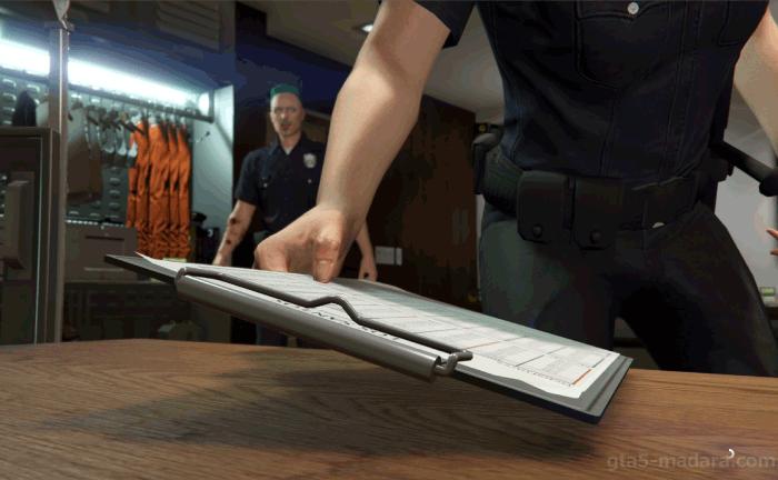 GTA5脱獄大作戦『警察署』計画書を届ける