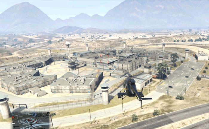 GTA5脱獄大作戦『フィナーレ』刑務所を援護する