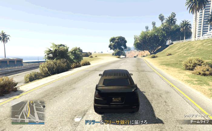 GTA5『フリーサ強盗:フィナーレ』フリーサ銀行に行く