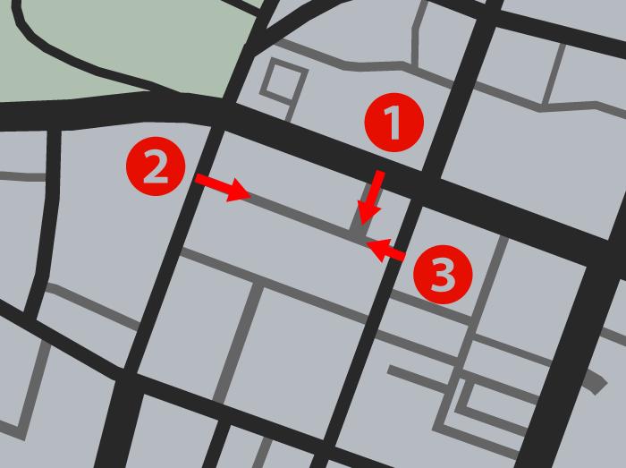 GTA5パシフィック銀行強盗『ハッキング』敵エリア