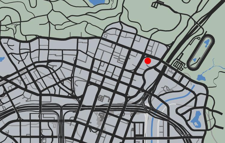 GTA5パシフィック銀行強盗『信号』ヘリのスポーン場所