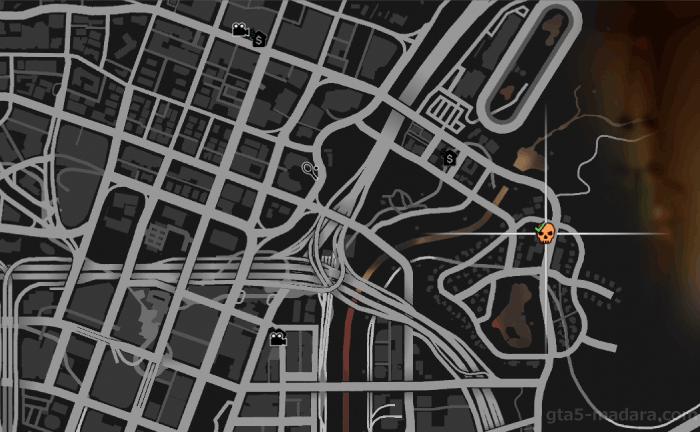 GTA5不審者と変質者『妄想ミッション5:ヒップスター』のミッション発生場所