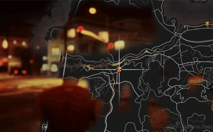 GTA5不審者と変質者『妄想ミッション4:軍隊』の発生場所