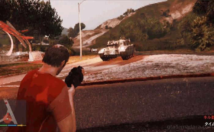 GTA5不審者と変質者『妄想ミッション4:軍隊』のクリア条件