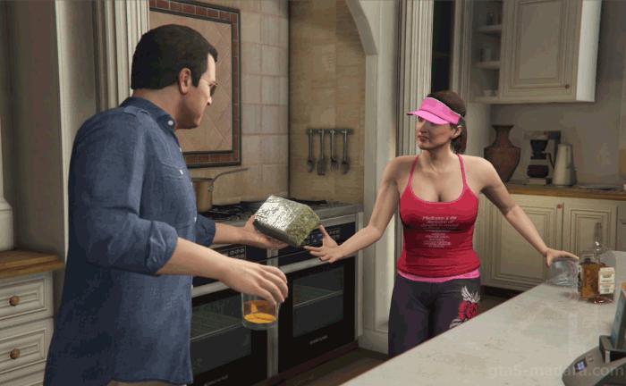 GTA5ストーリーミッション『フェイム・オア・シェイム』マイケルの自宅