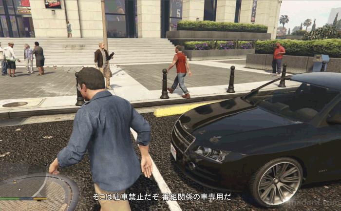 GTA5ストーリーミッション『フェイム・オア・シェイム』イベントコーディネイターを気絶させる