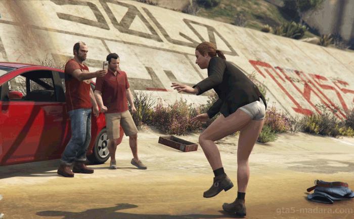 GTA5ストーリーミッション『フェイム・オア・シェイム』ラズロウを追い詰める