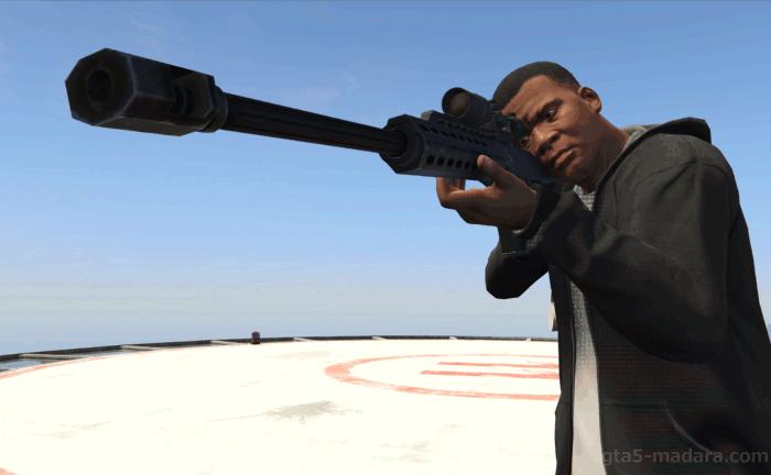 GTA5ストーリーミッション『ザ・チーム』フランクリンで狙撃する