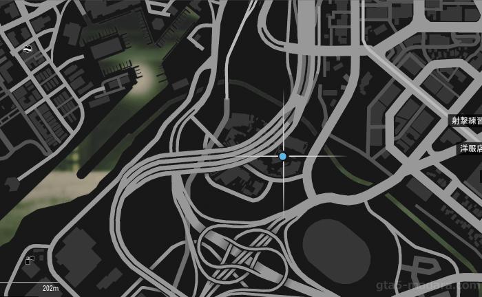 GTA5不審者と変質者『グラスルーツ:レッカー』目的の車のある場所