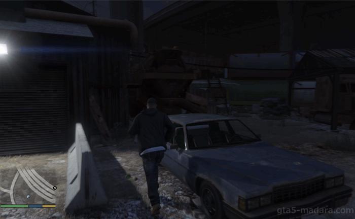 GTA5不審者と変質者『グラスルーツ:レッカー』目的の車に乗る