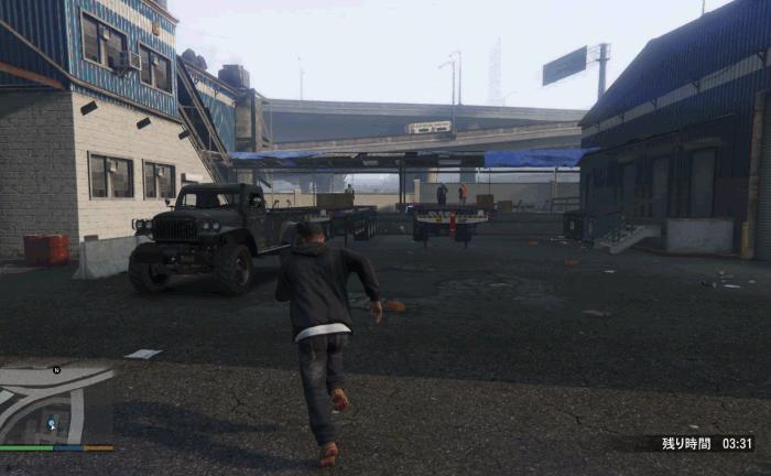 GTA5不審者と変質者『グラスルーツ:回収』トラックに乗る