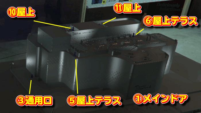 GTA5カジノ強盗 カジノ模型