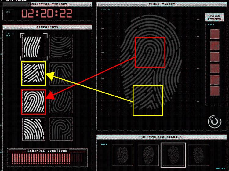 GTA5カジノ強盗の正解の指紋パーツを覚えるコツ!