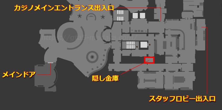 GTA5隠し金庫の場所