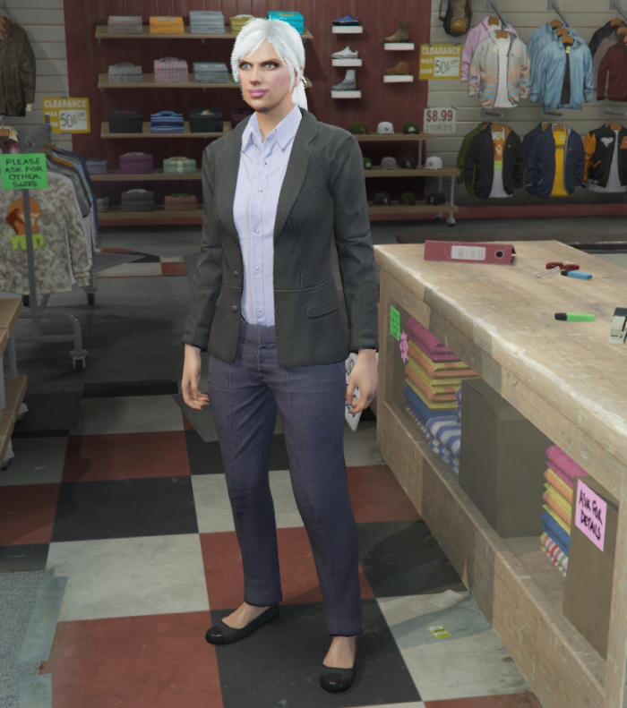 GTA5カジノ強盗(FIBのスーツ)