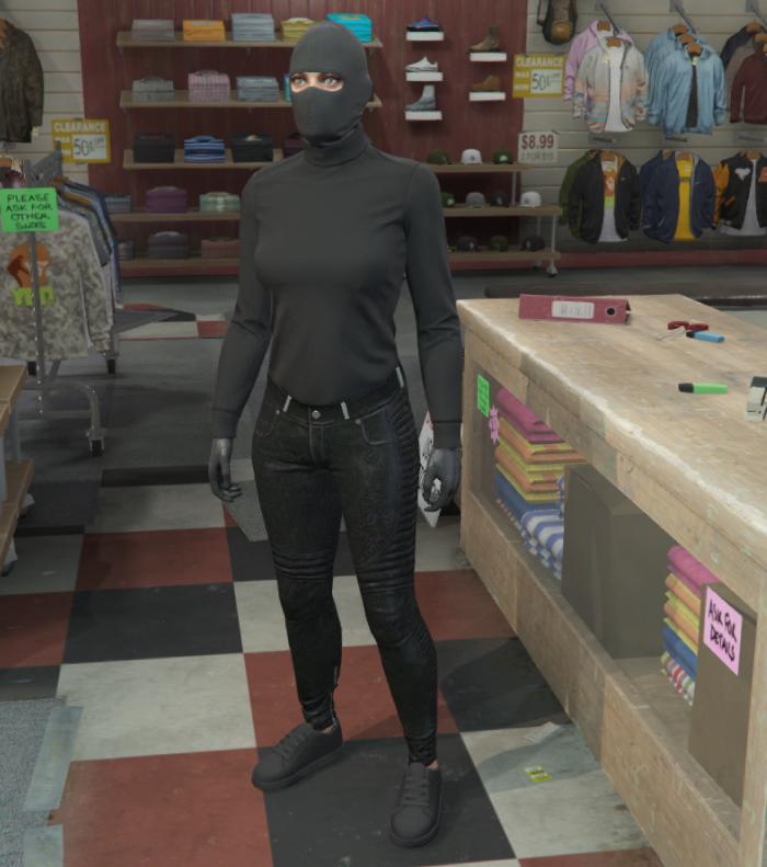 GTA5カジノ強盗(覆面のペテン)