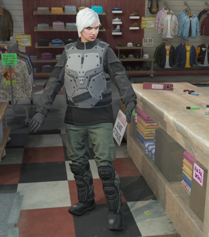 GTA5カジノ強盗(強化型:大型戦闘服)