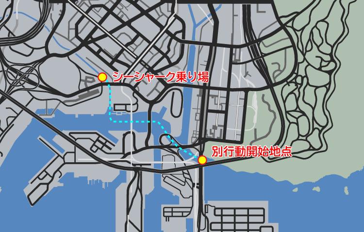 GTA5ストーリーミッション『ギャング・サファリ』攻略法