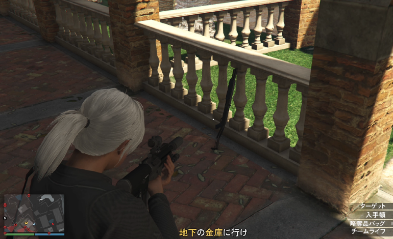 GTA5軍用ショットガンの出現場所No6